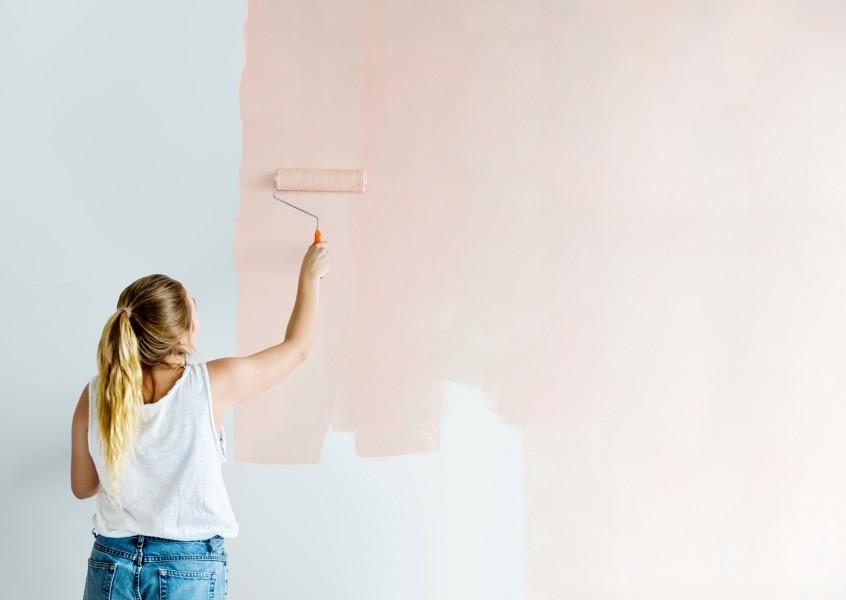 Peindre Sur Du Papier Peint Comment Proceder Atelier Deco Creation